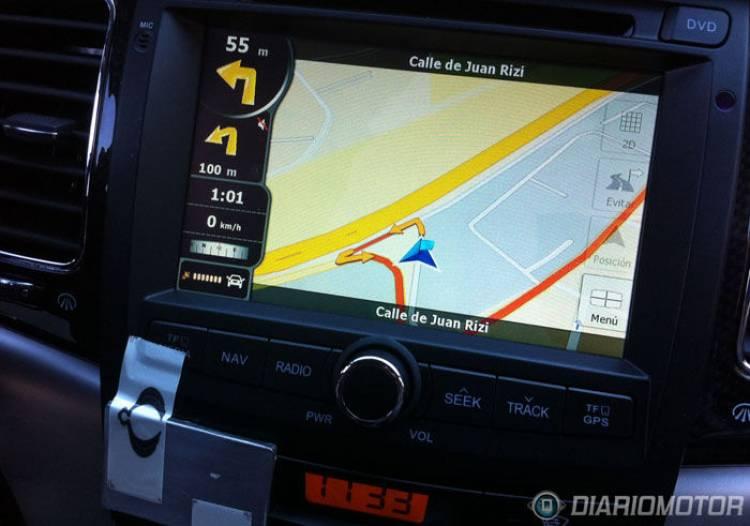Presentación y prueba del Ssangyong Korando G20d gasolina, el navegador GPS
