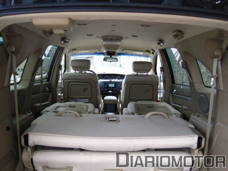 SsangYong Rodius 270Xdi Premium, a prueba (III)