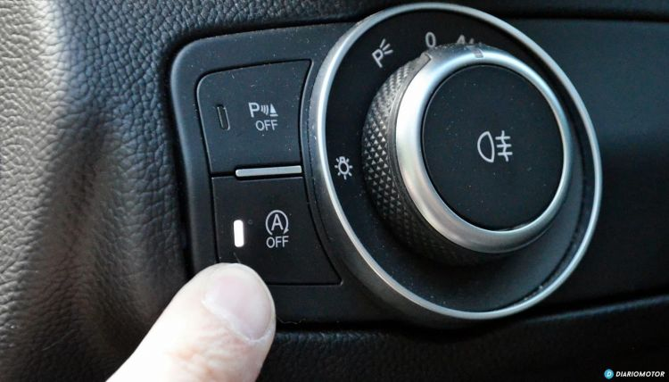 Start Stop Diesel Averia Boton