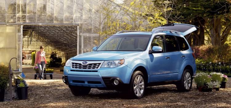 Ligerísimo maquillaje para el Subaru Forester 2011