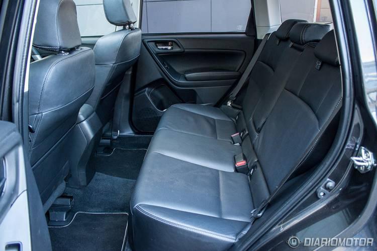 Subaru Forester prueba