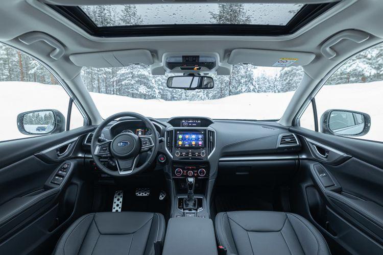 Subaru Impreza Eco Hybrid Interior