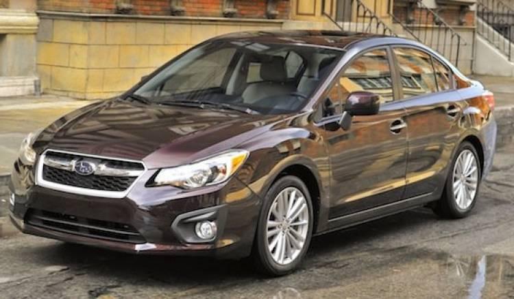 Subaru Impreza sedán 2012