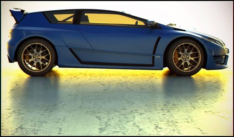 Subaru Impreza WRX-STI Hatch Concept Study