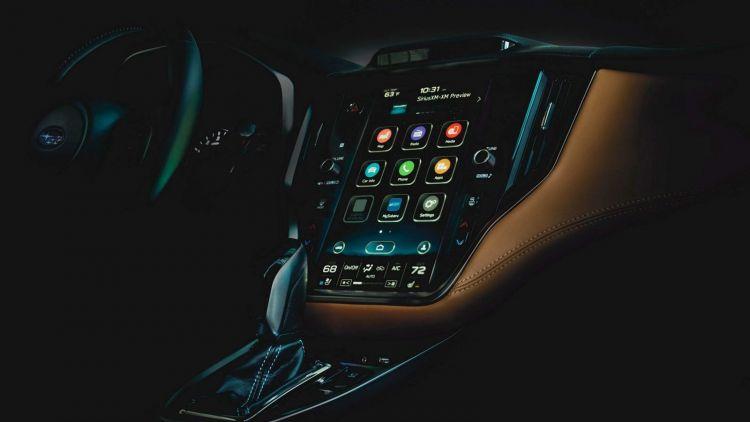 Subaru Legacy Imagen Adelanto Interior 0219 01