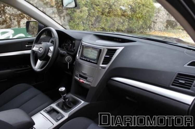 Subaru Legacy 2.0D Limited, a prueba (III)