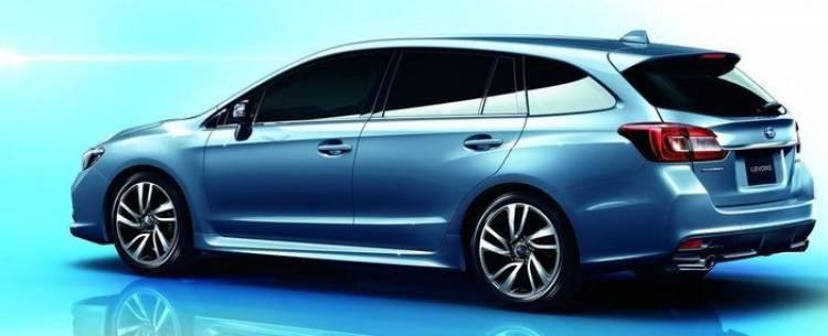 Subaru Levorg Concept: un familiar en clave deportiva como alternativa al Legacy Station Wagon