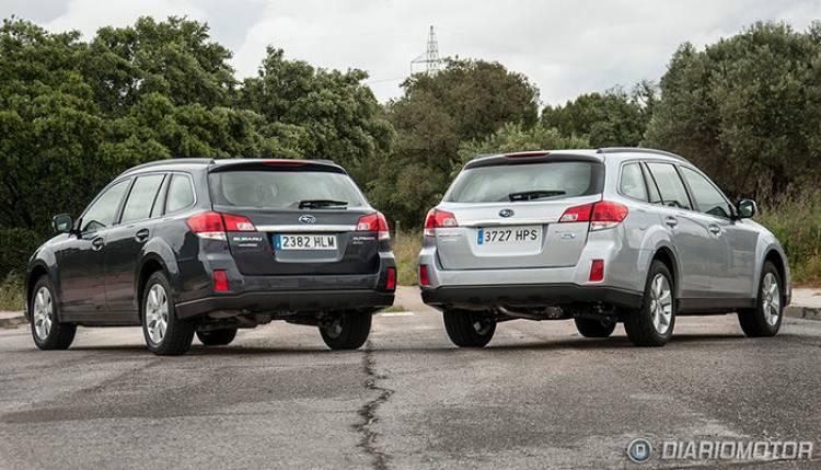 La próxima generación del Subaru Outback estará con nosotros en abril
