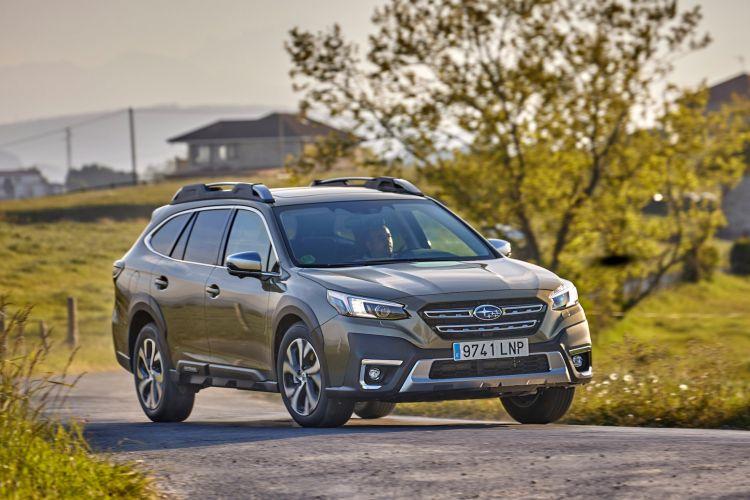 Subaru Outback 2021 Prueba 10