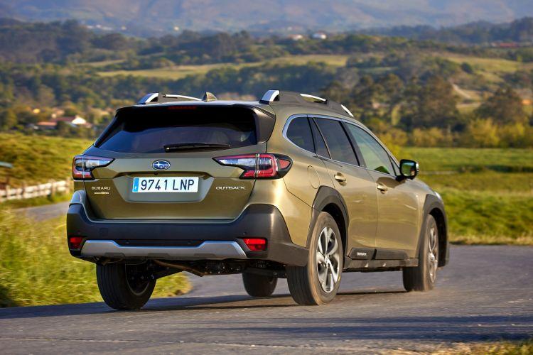 Subaru Outback 2021 Prueba 15