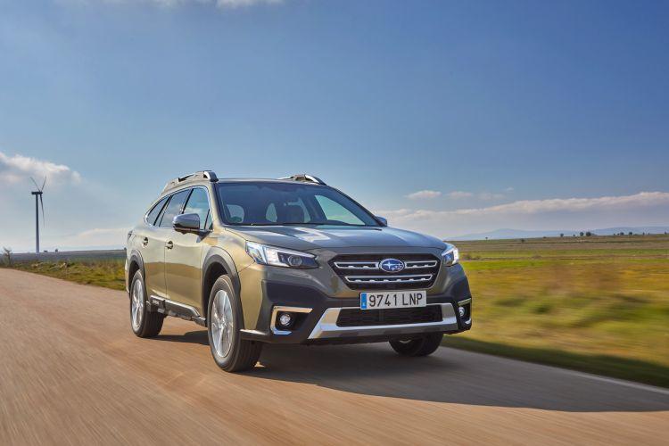 Subaru Outback 2021 Prueba 18