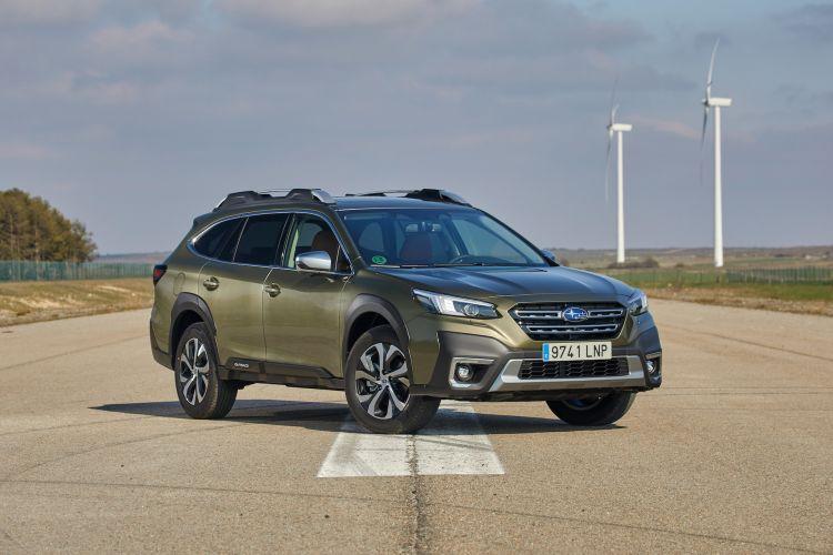 Subaru Outback 2021 Prueba 23