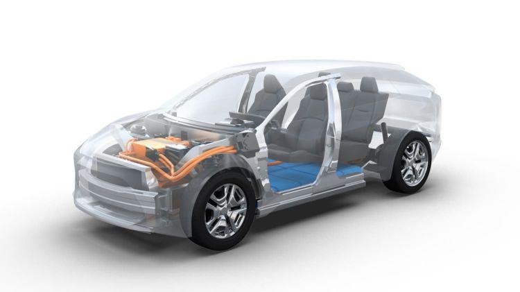 Subaru Suv Electrico
