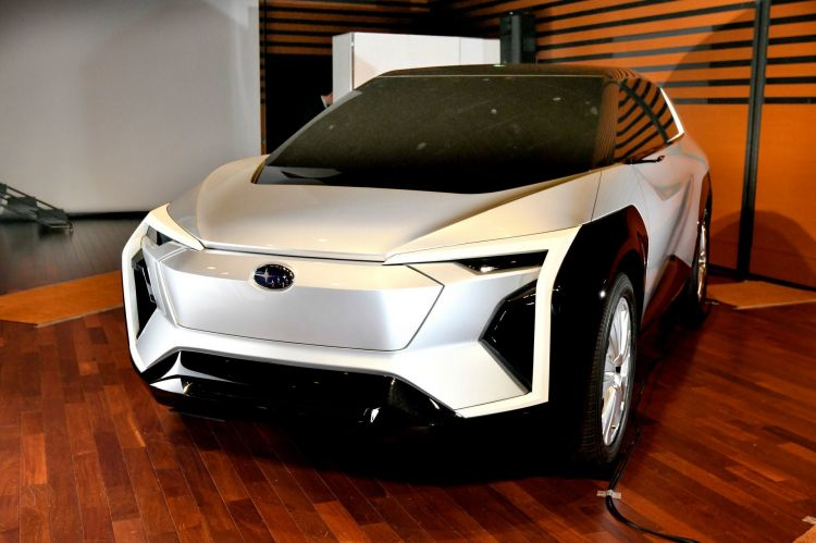 Subaru Toyota Electrico Futuro 3