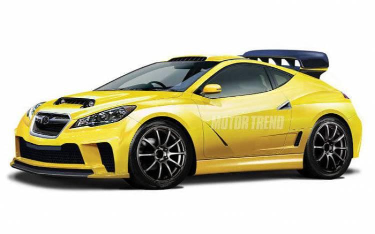 Subaru WRX recreación