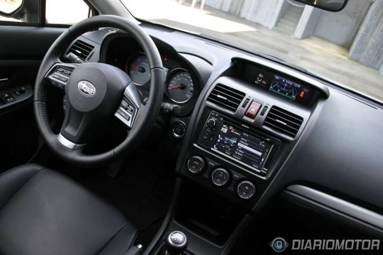 Subaru XV 2.0D Executive, a prueba (II) Nos ponemos en marcha con sus 150 CV