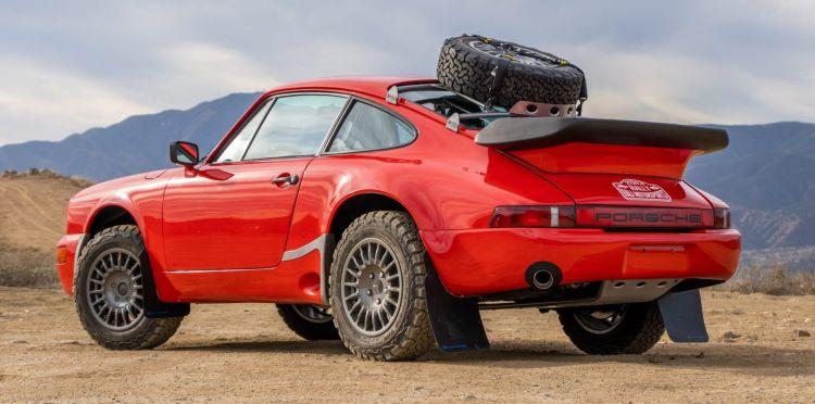 Subasta Porsche 911 Safari 1985 Portada