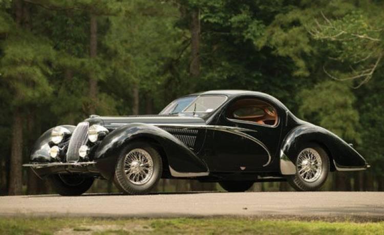 Las diez coches más caros subastados en 2010