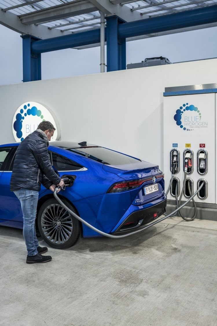 Surtidor Hidrogeno Verde Toyota Mirai