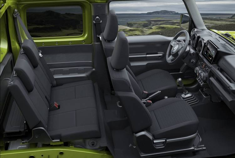 Suzuki Jimny 2019 Europa 3