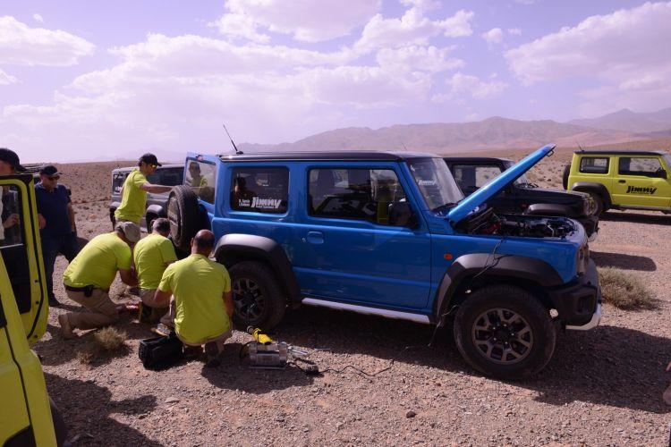 Suzuki Jimny Desert Experience 2019 00019