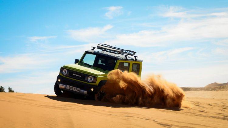 Suzuki Jimny Desert Experience 2019 00320