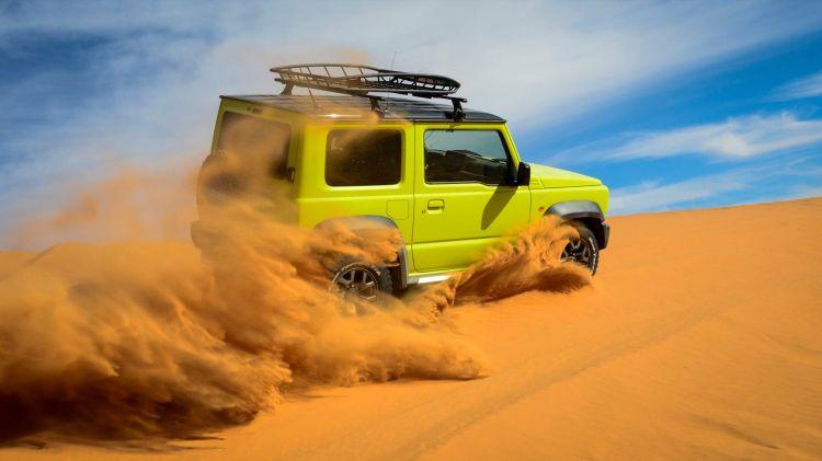 Suzuki Jimny Desert Experience 2019 00323