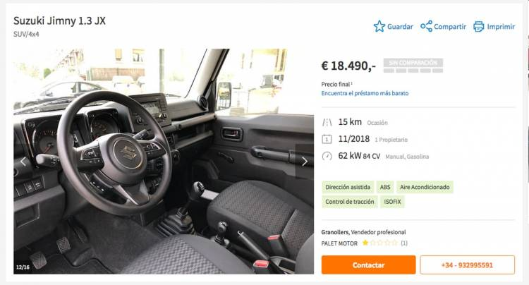 Suzuki Jimny Ocasion Dm 2