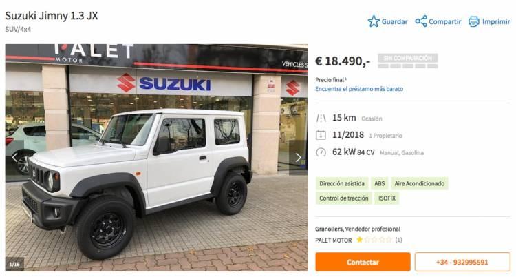 Suzuki Jimny Ocasion Dm 3