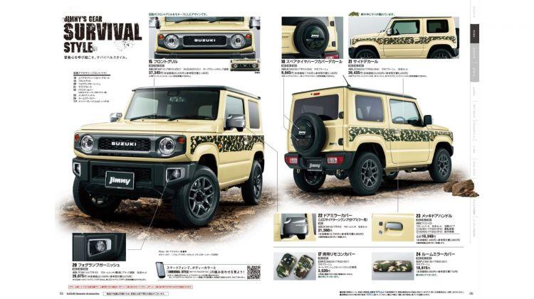 Suzuki Jimny Opciones Japon Dm 13