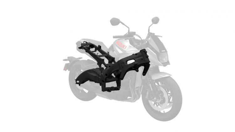 Suzuki Katana 2019 1401005 Katana M0 Body Frame Swingarm Copia