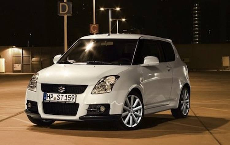 Suzuki Swift Sport Rock at the Ring