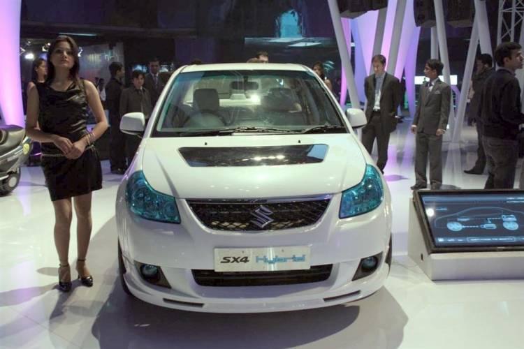 Suzuki SX4 Hybrid Concept