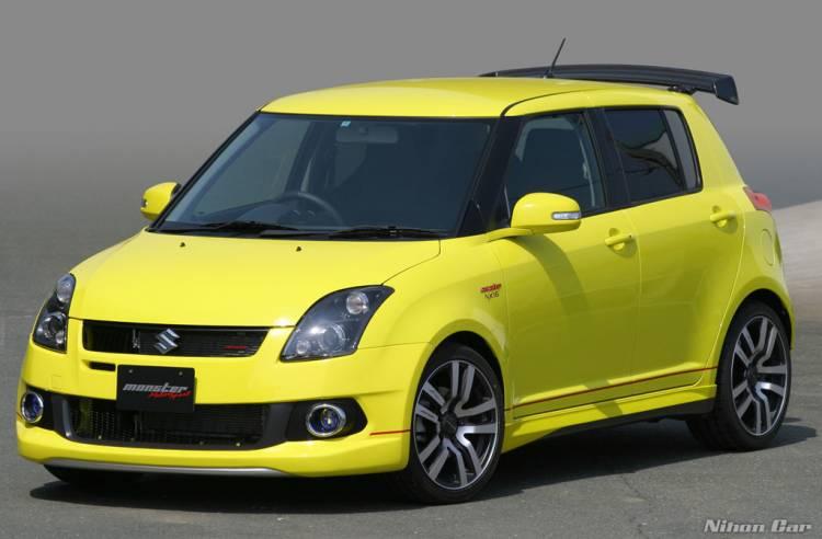 Suzuki Swift Sport Monster NX16