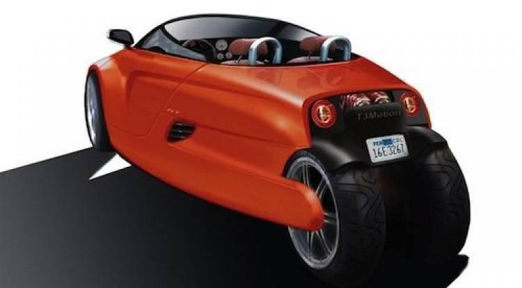 triciclo eléctrico: T3 Motion GT3