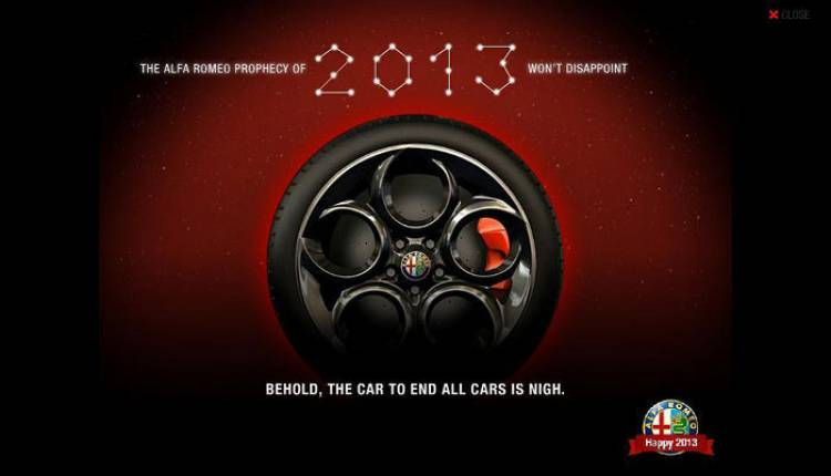 Alfa Romeo llegará a EEUU a finales de 2013