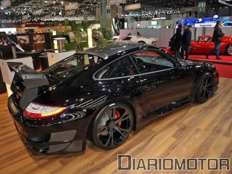 TechArt GT Street R 911 Turbo en Ginebra 2010
