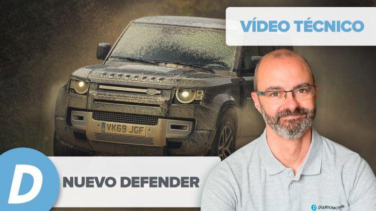 Tencica Nuevo Land Rover Defender