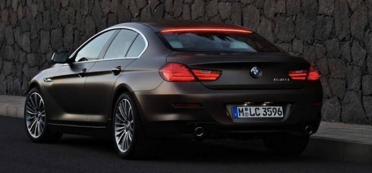 Tercera luz de freno BMW Serie 6 Gran Coupe