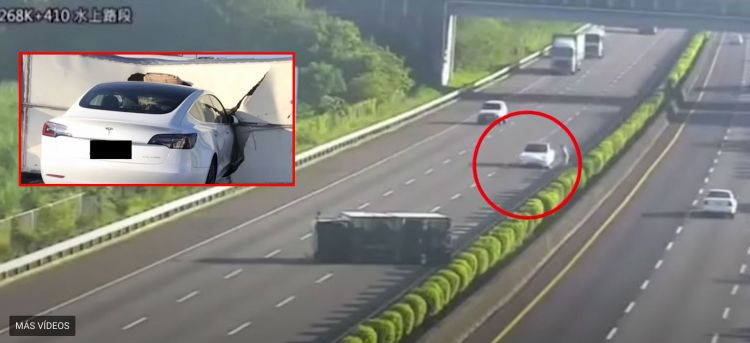 Tesla Accidente Video Taiwan 00