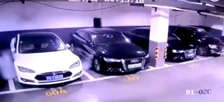Tesla Explota Shanghai Video