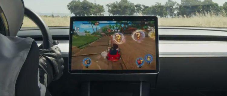 Tesla Mario Kart