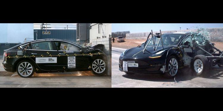 Tesla Model 3 Choque Nhtsa 1018 01