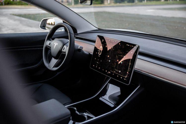 Tesla Model 3 Oferta Septiembre 2021 Interior Salpicadero