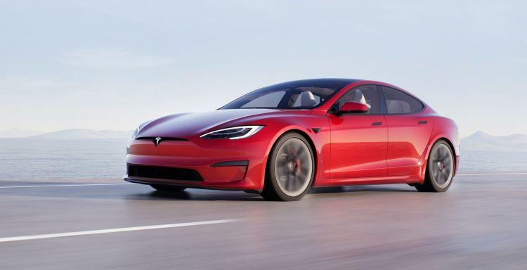 Tesla Model S 2021 Exterior 1