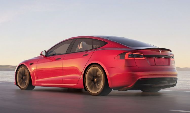 Tesla Model S 2021 Exterior 2