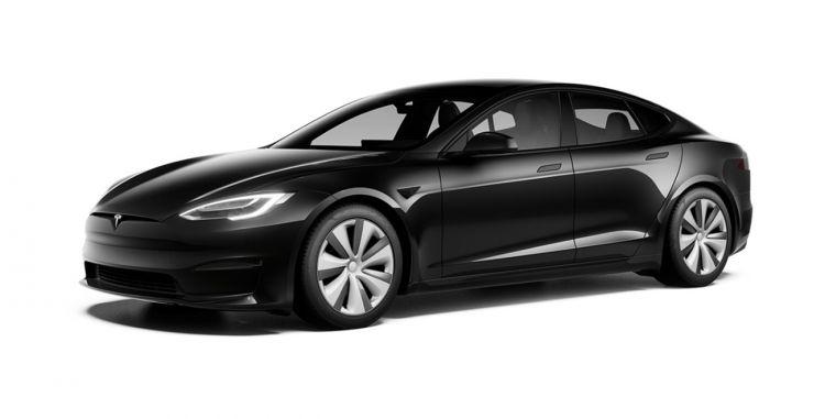 Tesla Model S 2021 Exterior Negro 002