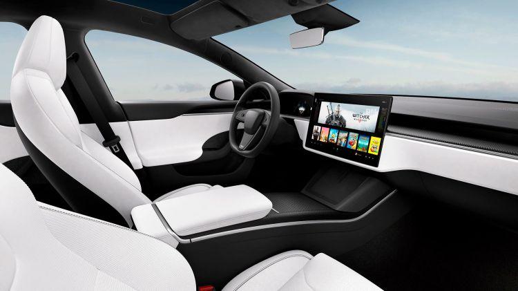 Tesla Model S 2021 Volante Circular 01
