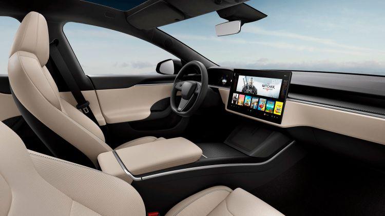 Tesla Model S 2021 Volante Circular 02