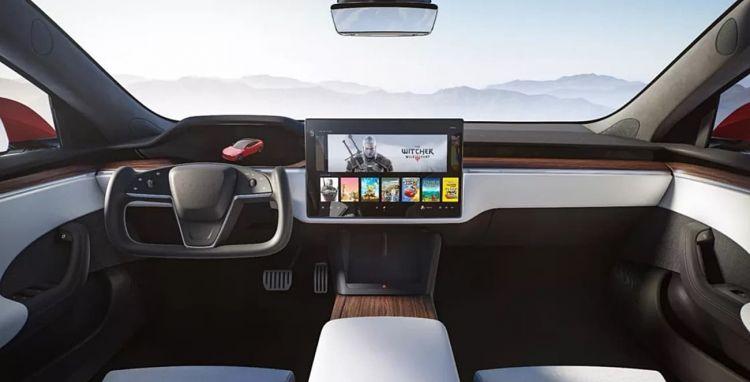 Tesla Model S 2021 Volante Pantalla 009